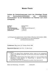 Master thesis forum