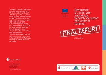 FINAL REPORT - Save the Children Italia Onlus