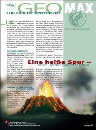 Eine heiße Spur - warum Forscher Vulkane anbohren - Scinexx