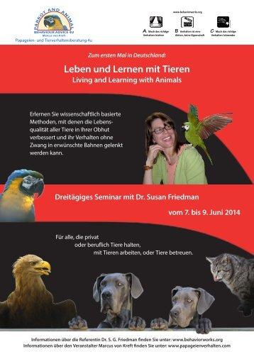 Leben und Lernen mit Tieren - BehaviorWorks.org