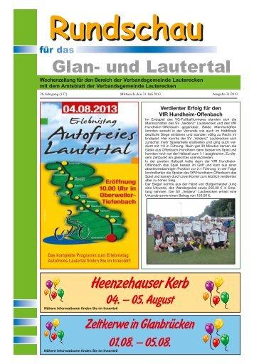 Amtsblatt KW 31 - Verbandsgemeinde Lauterecken