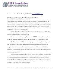 Team CdLS debuts at the Manhattan Beach 10K - The CdLS Press ...