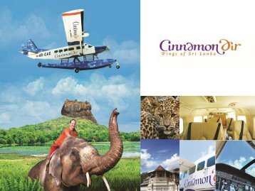 For more information click here - Cinnamon Air