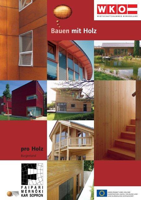 Bauen mit Holz - zukunftsregion