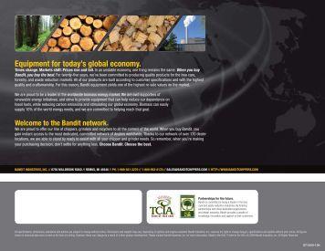 Equipment for today's global economy. - Bandit Tree Equipment