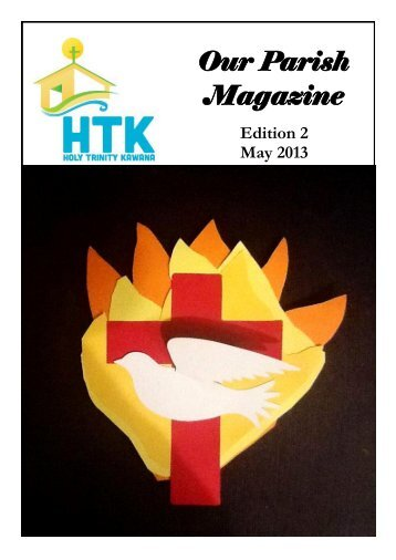 May Magazine - HTK Kawana Anglican Church