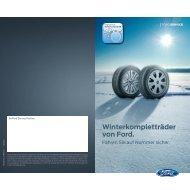 Winterkompletträder von Ford. - Auto Will