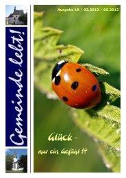 Download Ausgabe 18 - Evangelische Kirchengemeinden Dorlar ...