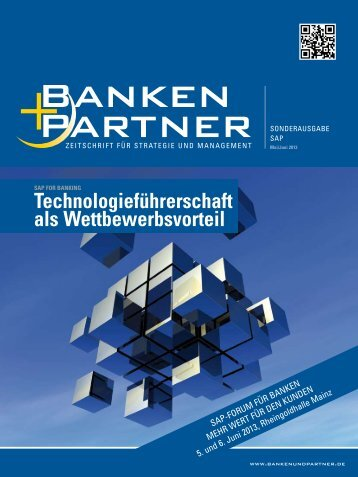 Sonderausgabe SAP. - Banken+Partner
