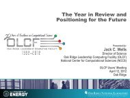 The Year in Review and Positioning for the Future
