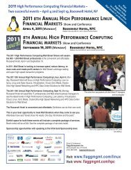 2011 Exhibitor Brochure (PDF) - Flagg Management Inc