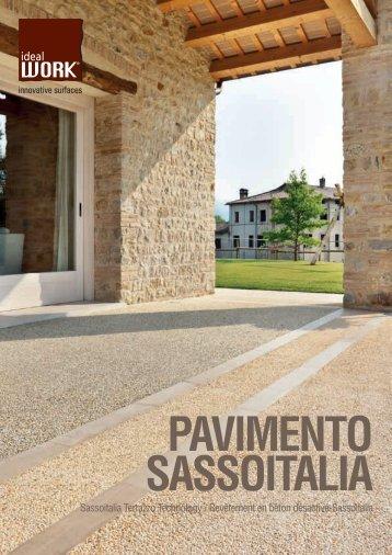 pavimento sassoitalia - Ideal Work