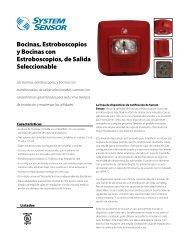 Bocinas, Estroboscopios y Bocinas con Estroboscopios, de Salida ...