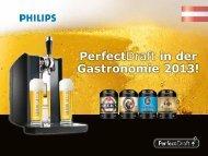 PerfectDraft in der Gastronomie 2013! - Linzgieseder