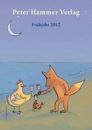B A CKLIST - Peter Hammer Verlag