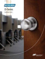 D-Series locks - Security Technologies