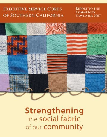Annual Report 2007 - Executive Service Corps of Southern California