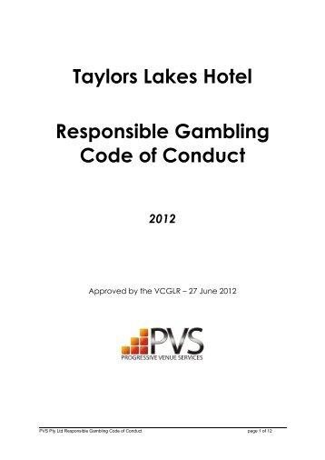 Queensland responsible gambling code of practice signage gambling911