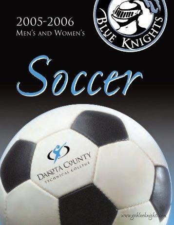 2005-06 Soccer Media Guide - Blue Knights Athletics