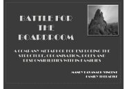 battle for the boardroom - Family Therapy Association of New Zealand