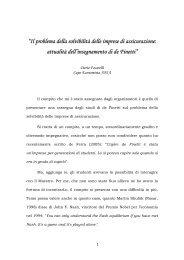 Il problema della solvibilità delle imprese di ... - Bruno de Finetti