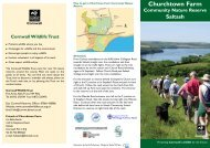 Churchtown Farm - Cornwall Wildlife Trust