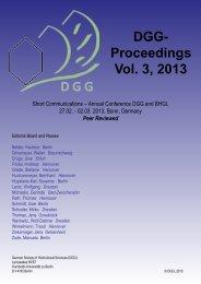 No. 8 - Thomas Rath Modellierung der relativen ... - DGG