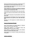 CURRICULUM VITAE Estudios Cursados ... - Aves Argentinas - Page 2