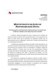Meritor Investe Em Ações De Responsabilidade Social 29 Mar 2012 ...