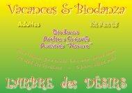 d'infos (fichier PDF - 710Ko) - VIVRE MIEUX avec la BIODANZA