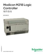 Modicon M218 Logic Controller - Schneider Electric