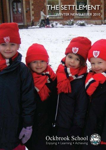 Winter Newsletter 2010 - Ockbrook School
