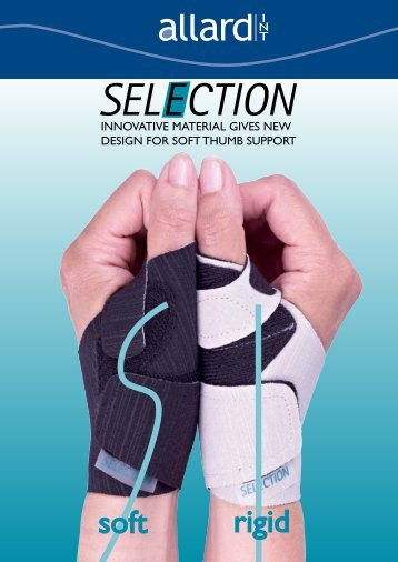 SELECTION Soft Thumb Support - Allard International