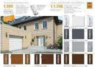 € 899* ab € 1.298* - Baustoffe Heindl