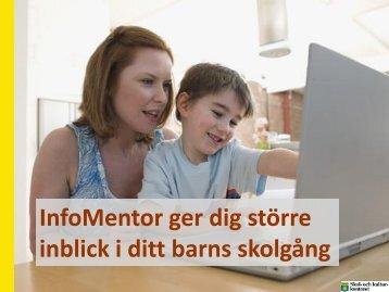 Infomentor bildspel - Skellefteå kommun