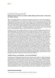 Katholische Kirche und Staat in der Schweiz - RKZ