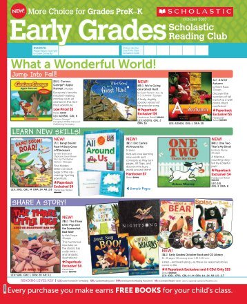 Paperback - Scholastic Book Clubs