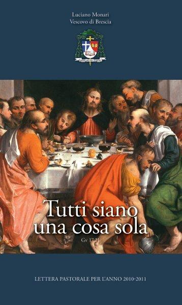 Tutti siano una cosa sola - Diocesi di Brescia