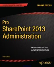 Pro SharePoint 2013 Administration - EBook Free Download