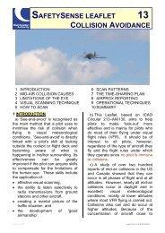 safetysense leaflet 13 collision avoidance