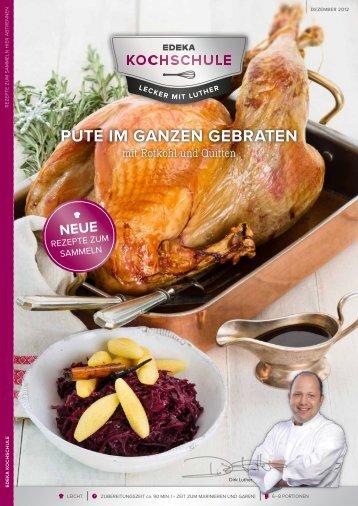 PUTE IM GANZEN GEBRATEN - EDEKA-Kochschule