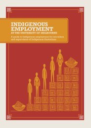 INDIGENOUS EMPLOYMENT - Department of Human Resources ...