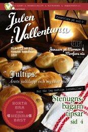 Recept: - Vallentuna Julmarknad 2013