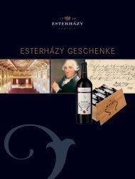 ESTERHÁZY GESCHENKE - Weine