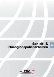 Schleif- & Hochglanzpolier arbeiten - DME