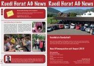 NEWS September 2013 - Ruedi Horat AG