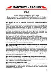 Q&A 18-01-13 II - Manthey Motors