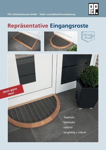 Eingangsroste - PcP . PcP. Sicherheitsroste GmbH . Stahl- und ...