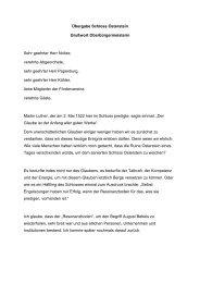 Grußwort anlässlich der Wiedereröffnung von - Stadt Zwickau