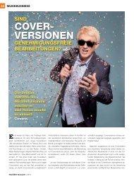 COVER- VERSIONEN - Musiker Online